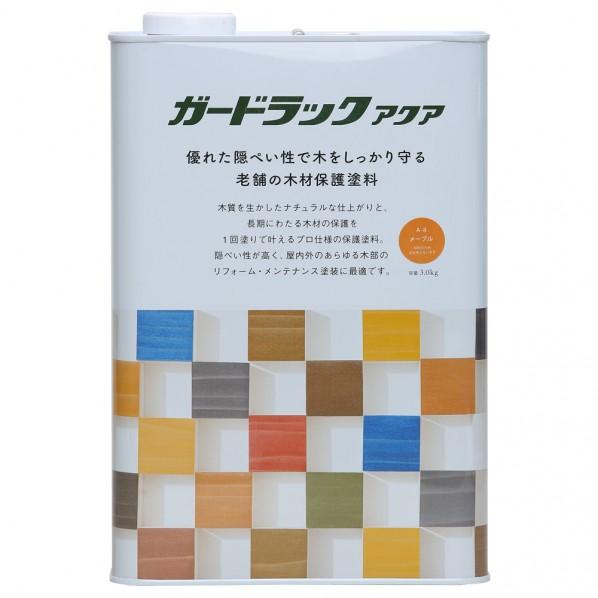 和信ペイント ガードラックアクア メープル 3.0kg 800405