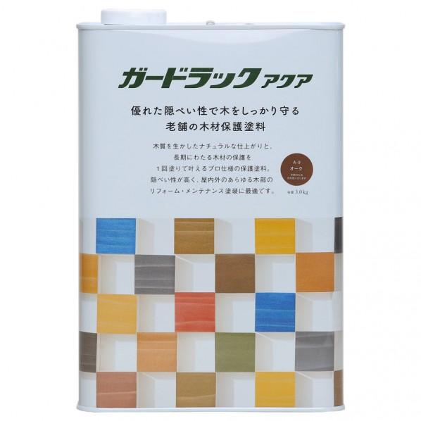 和信ペイント ガードラックアクア オーク 3.0kg 800406