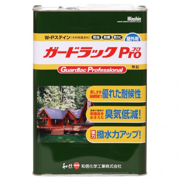 和信ペイント ガードラックプロ ブラウン 4L 952110