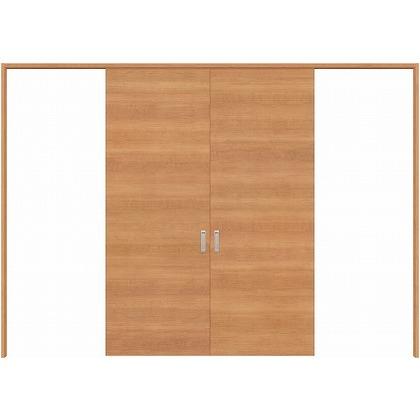 住友林業クレスト 長尺引き戸 フラットパネル横目 ベリッシュチェリー柄 枠外W3259×枠外H2032 HBATK01HACA257JS3 内装建具 1セット