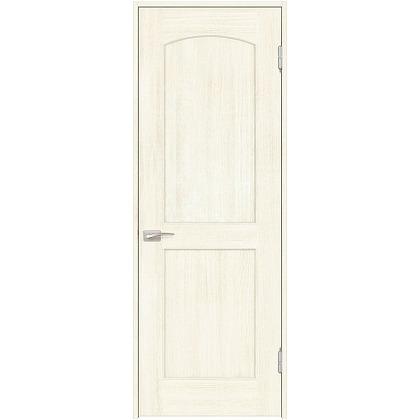 住友林業クレスト 内装ドア アールパネル ベリッシュホワイト柄 枠外W735mm×枠外H2300mm DBACK26SWC38JS4AL 内装建具 1セット