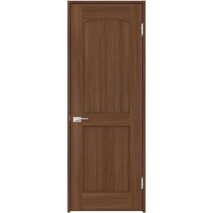 住友林業クレスト 内装ドア アールパネル ベリッシュウォルナット柄 枠外W780mm×枠外H2300mm DBACK26SUA58JS4AL 内装建具 1セット