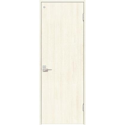 住友林業クレスト 内装ドア トイレ用フラットパネル縦目 ベリッシュホワイト柄 枠外W642mm×枠外H2032mm DBACK00PW527JS4FR 内装建具 1セット