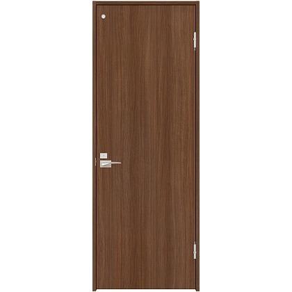 住友林業クレスト 内装ドア トイレ用フラットパネル縦目 ベリッシュウォルナット柄 枠外W735mm×枠外H2032mm DBACK00PU737JS4FR 内装建具 1セット