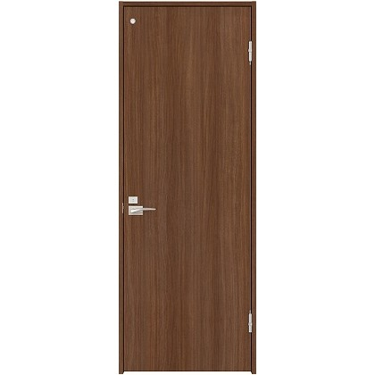 住友林業クレスト 内装ドア トイレ用フラットパネル縦目 ベリッシュウォルナット柄 枠外W850mm×枠外H2032mm DBACK00PU467JS4FR 内装建具 1セット
