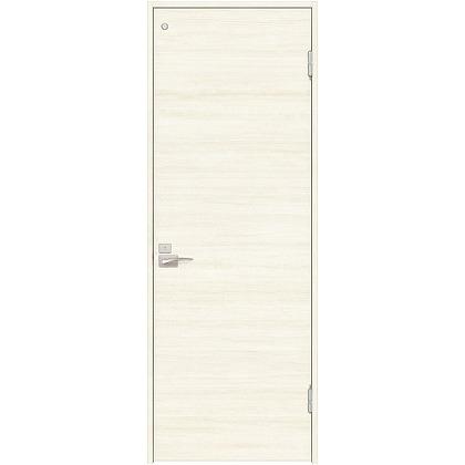 住友林業クレスト 内装ドア トイレ用フラットパネル横目 ベリッシュホワイト柄 枠外W755mm×枠外H2300mm DBACK01PWC48JS4FL 内装建具 1セット