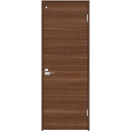 住友林業クレスト 内装ドア トイレ用フラットパネル横目 ベリッシュウォルナット柄 枠外W755mm×枠外H2032mm DBACK01PU747JS4FL 内装建具 1セット