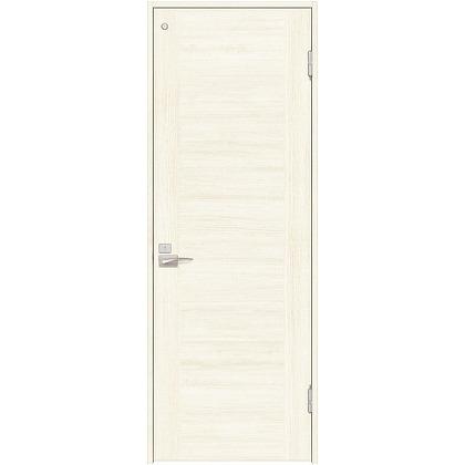 住友林業クレスト 内装ドア トイレ用フラットセンター框パネル ベリッシュホワイト柄 枠外W735mm×枠外H2032mm DBACK23PW837JS4FR 内装建具 1セット