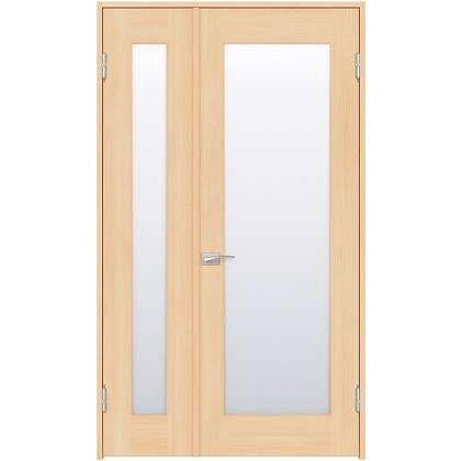 住友林業クレスト 内装親子ドア 1枚ガラス ベリッシュメイプル柄 枠外W1190×枠外H2032 DBACK25SMB17JS4AR 内装建具 1セット