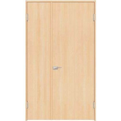 住友林業クレスト 内装親子ドア フラットパネル縦目 ベリッシュメイプル柄 枠外W1190×枠外H2032 DBACK00SM717JS4AL 内装建具 1セット