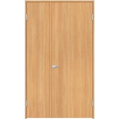 住友林業クレスト 内装親子ドア フラットパネル縦目 ベリッシュオーク柄 枠外W1190×枠外H2032 DBACK00SA517JS4AR 内装建具 1セット