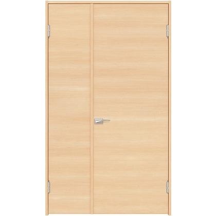 住友林業クレスト 内装親子ドア フラットパネル横目 ベリッシュメイプル柄 枠外W1190×枠外H2032 DBACK01SME17JS4AR 内装建具 1セット