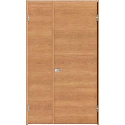 住友林業クレスト 内装親子ドア フラットパネル横目 ベリッシュチェリー柄 枠外W1190×枠外H2032 DBACK01SC817JS4AR 内装建具 1セット