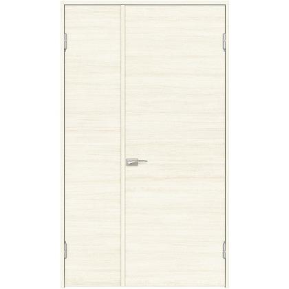 住友林業クレスト 内装親子ドア フラットパネル横目 ベリッシュホワイト柄 枠外W1190×枠外H2032 DBACK01SW717JS4AL 内装建具 1セット