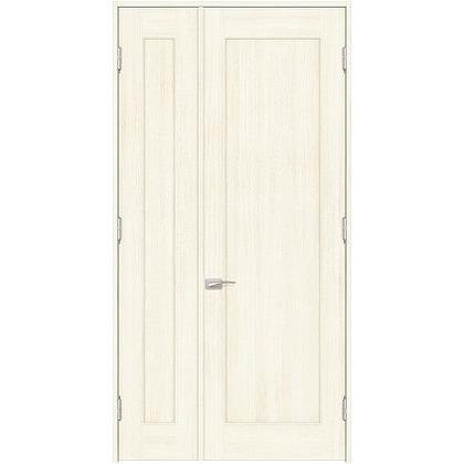 住友林業クレスト 内装親子ドア 1枚パネル ベリッシュホワイト柄 枠外W1190×枠外H2032 DBACK24SWA17JS4AL 内装建具 1セット