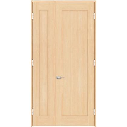住友林業クレスト 内装親子ドア 1枚パネル ベリッシュメイプル柄 枠外W1190×枠外H2032 DBACK24SMB17JS4AL 内装建具 1セット