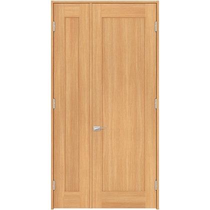 住友林業クレスト 内装親子ドア 1枚パネル ベリッシュオーク柄 枠外W1190×枠外H2032 DBACK24SAD17JS4AL 内装建具 1セット