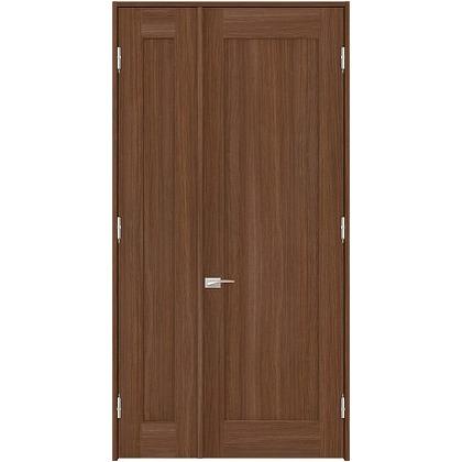 住友林業クレスト 内装親子ドア 1枚パネル ベリッシュウォルナット柄 枠外W1190×枠外H2032 DBACK24SUA17JS4AL 内装建具 1セット