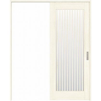 住友林業クレスト 引き戸 縦格子ガラス ベリッシュホワイト柄 枠外W1645×枠外H2032 HBATK29HAWC67J1S3L 内装建具 1セット