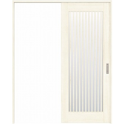 住友林業クレスト 引き戸 縦格子ガラス ベリッシュホワイト柄 枠外W1645×枠外H2300 HBAUK29HAW768J1S3L 内装建具 1セット