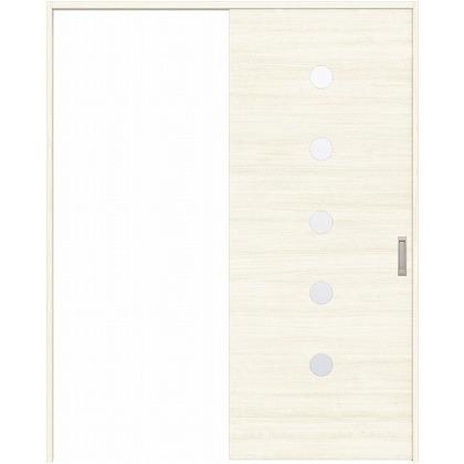 住友林業クレスト 引き戸 丸窓付パネル ベリッシュホワイト柄 枠外W1463×枠外H2032 HBATK12HAW847J1S3R 内装建具 1セット