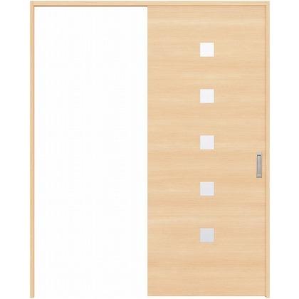 住友林業クレスト 引き戸 角窓付パネル ベリッシュメイプル柄 枠外W1645×枠外H2032 HBATK13HAM867J1S3R 内装建具 1セット