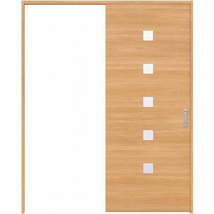 住友林業クレスト 引き戸 角窓付パネル ベリッシュオーク柄 枠外W1645×枠外H2032 HBATK13HAA567J1S3L 内装建具 1セット