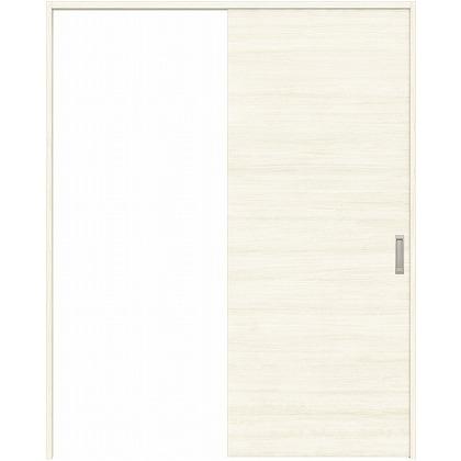 住友林業クレスト 引き戸 フラットパネル横目 ベリッシュホワイト柄 枠外W1463×枠外H2032 HBATK01HAW847J1S3L 内装建具 1セット