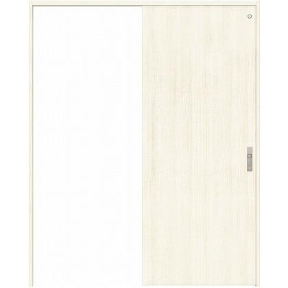 住友林業クレスト 引き戸 トイレ用 フラットパネル縦目 ベリッシュホワイト柄 枠外W1190×枠外H2300 HBAUK00HPWA18J1S3L 内装建具 1セット