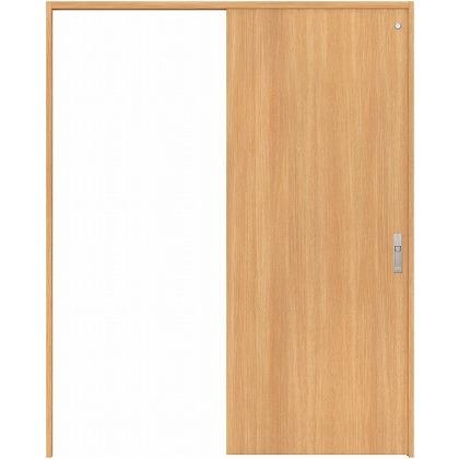住友林業クレスト 引き戸 トイレ用 フラットパネル縦目 ベリッシュオーク柄 枠外W1463×枠外H2300 HBAUK00HPAB48J1S3L 内装建具 1セット