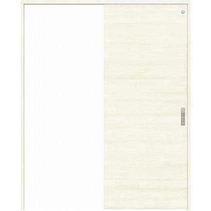 住友林業クレスト 引き戸 トイレ用 フラットパネル横目 ベリッシュホワイト柄 枠外W1463×枠外H2300 HBATK01HPWB48J1S3R 内装建具 1セット