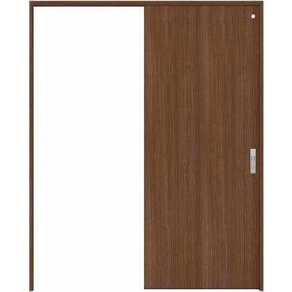 住友林業クレスト 引き戸 トイレ用 フラットパネル縦目 ベリッシュウォルナット柄 枠外W1645×枠外H2300 HBAUK00HPUB68J1S3R 内装建具 1セット