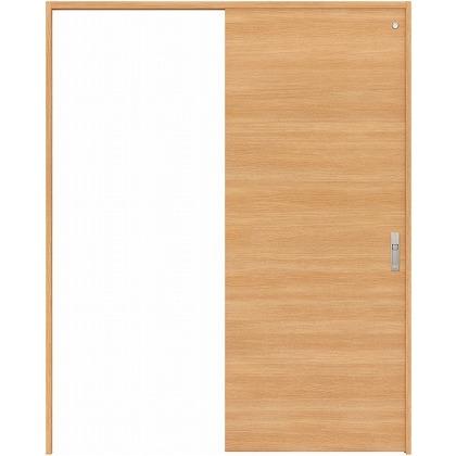 住友林業クレスト 引き戸 トイレ用 フラットパネル横目 ベリッシュオーク柄 枠外W1463×枠外H2300 HBATK01HPA848J1S3L 内装建具 1セット
