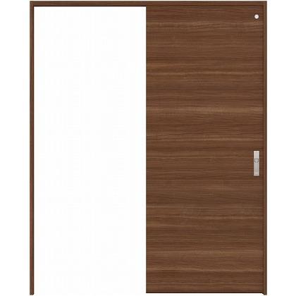 住友林業クレスト 引き戸 トイレ用 フラットパネル横目 ベリッシュウォルナット柄 枠外W1463×枠外H2300 HBAUK01HPUA48J1S3L 内装建具 1セット