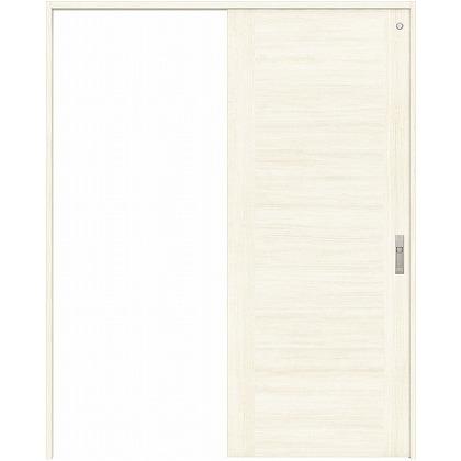 住友林業クレスト 引き戸 トイレ用 フラットセンター框パネル ベリッシュホワイト柄 枠外W1645×枠外H2300 HBAUK23HPWE68J1S3R 内装建具 1セット
