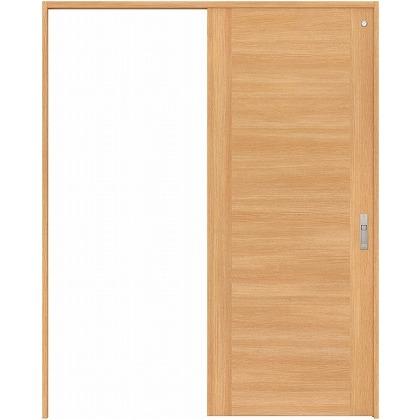 住友林業クレスト 引き戸 トイレ用 フラットセンター框パネル ベリッシュオーク柄 枠外W1645×枠外H2032 HBATK23HPA467J1S3R 内装建具 1セット