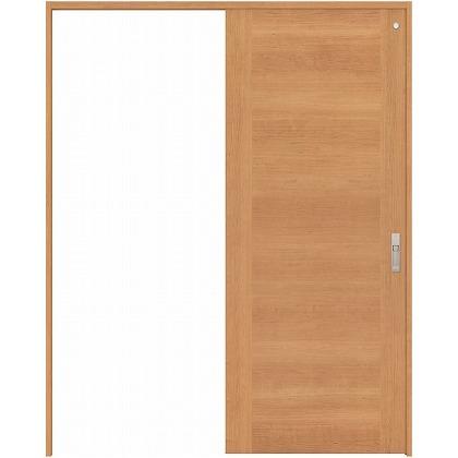 住友林業クレスト 引き戸 トイレ用 フラットセンター框パネル ベリッシュチェリー柄 枠外W1645×枠外H2032 HBATK23HPC767J1S3R 内装建具 1セット