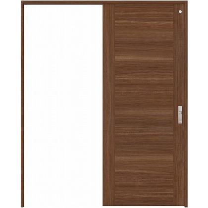 住友林業クレスト 引き戸 トイレ用 フラットセンター框パネル ベリッシュウォルナット柄 枠外W1463×枠外H2032 HBATK23HPU447J1S3R 内装建具 1セット