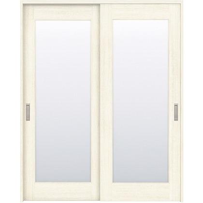 住友林業クレスト 引違い戸 1枚ガラス ベリッシュホワイト柄 枠外W1645×枠外H2300 HBATK25HAWC68J2S3 内装建具 1セット