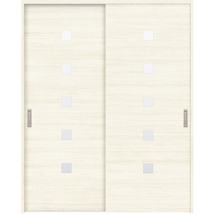 住友林業クレスト 引違い戸 角窓付パネル ベリッシュホワイト柄 枠外W1645×枠外H2300 HBAUK13HAW868J2S3 内装建具 1セット