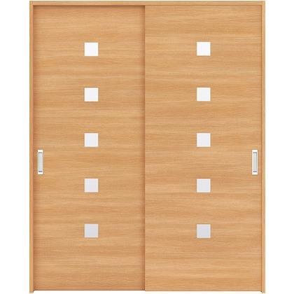 住友林業クレスト 引違い戸 角窓付パネル ベリッシュオーク柄 枠外W1645×枠外H2032 HBAUK13HAAD67J2S3 内装建具 1セット