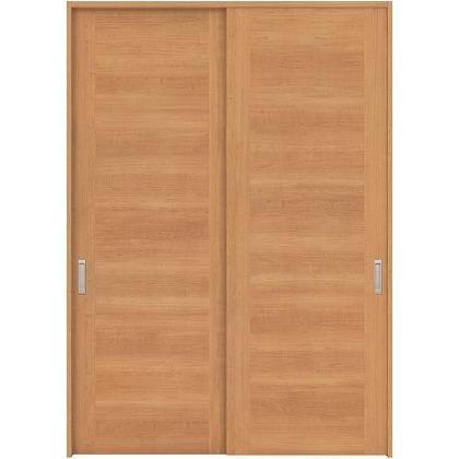 住友林業クレスト 引違い戸 フラットセンター框パネル ベリッシュチェリー柄 枠外W1645×枠外H2032 HBAUK23HACB67J2S3 内装建具 1セット
