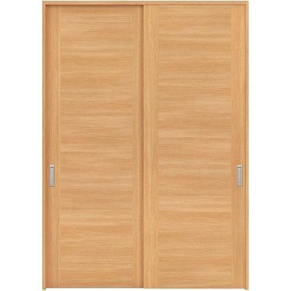 住友林業クレスト 引違い戸 フラットセンター框パネル ベリッシュオーク柄 枠外W1645×枠外H2300 HBAUK23HAA868J2S3 内装建具 1セット