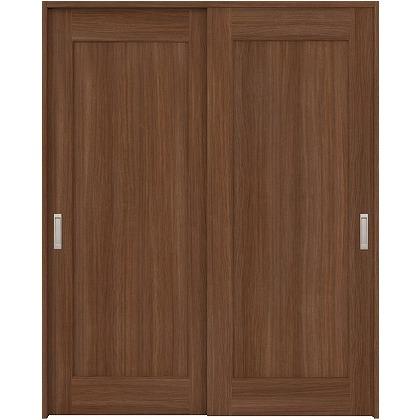 住友林業クレスト 引違い戸 1枚パネル ベリッシュウォルナット柄 枠外W1645×枠外H2032 HBAUK24HAUC67J2S3 内装建具 1セット