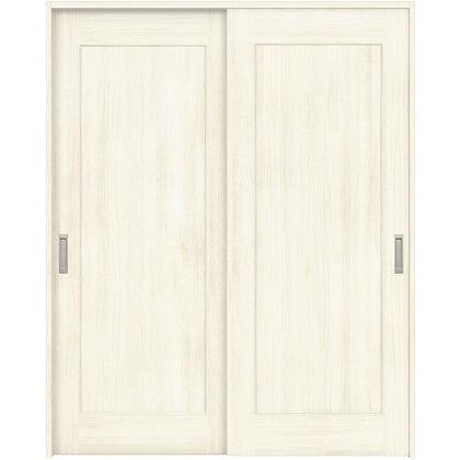 住友林業クレスト 引違い戸 1枚パネル ベリッシュホワイト柄 枠外W1645×枠外H2032 HBAUK24HAW467J2S3 内装建具 1セット