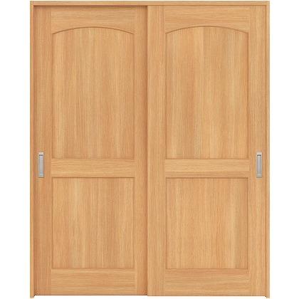 住友林業クレスト 引違い戸 アールパネル ベリッシュオーク柄 枠外W1645×枠外H2032 HBATK26HAAE67J2S3 内装建具 1セット