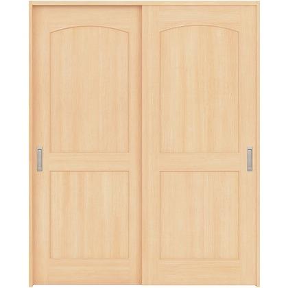 住友林業クレスト 引違い戸 アールパネル ベリッシュメイプル柄 枠外W1645×枠外H2032 HBATK26HAM767J2S3 内装建具 1セット