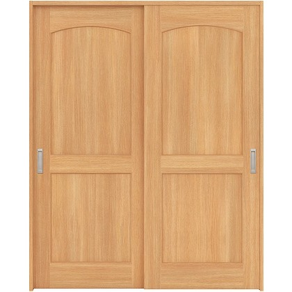 住友林業クレスト 引違い戸 アールパネル ベリッシュオーク柄 枠外W1645×枠外H2032 HBAUK26HAAA67J2S3 内装建具 1セット
