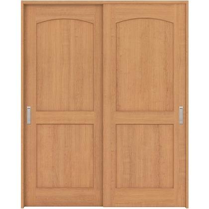 住友林業クレスト 引違い戸 アールパネル ベリッシュチェリー柄 枠外W1645×枠外H2300 HBAUK26HAC768J2S3 内装建具 1セット