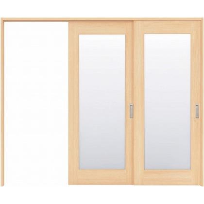 住友林業クレスト 長尺引き戸 1枚ガラス ベリッシュメイプル柄 枠外W2439×枠外H2032 HBATK25HAMC247JS3L 内装建具 1セット